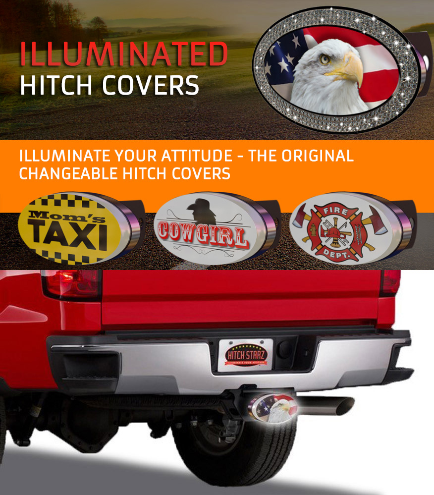 Custom Branded Hitch Covers